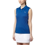 Puma Pounce Sleeveless Golf Polo - True Blue