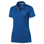 Puma Pounce Short Sleeve Golf Polo - Lapis Blue