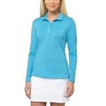 Puma Pounce Hawaiian Ocean Long Sleeve Polo