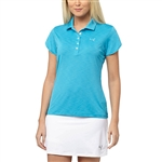 Puma Petal Golf Polo - Hawaiian Ocean