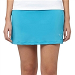 Puma Solid Knit Golf Skort - Hawaiian Ocean