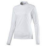 Puma Mockneck Long Sleeve Base Layer - Bright White