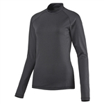 Puma Mockneck Long Sleeve Base Layer - Dark Grey Heather