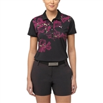 Puma Bloom Short Sleeve Golf Polo - Black