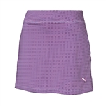 Puma Pinwheel Knit Golf Skort - Beetroot Purple