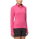 Puma Bloom 1/4 Zip Popover - Beetroot