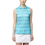 Puma Roadmap Sleeveless Golf Polo - Blue Atoll