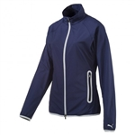 Puma Full Zip Wind Jacket - Peacoat