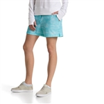 "Puma Printed 5"" Golf Short - Blue Atoll"