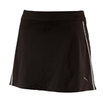 Puma Mesh Knit Golf Skort - Black