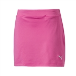 Puma Youth Girls Solid Knit Golf Skort - Shocking Pink