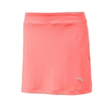 Puma Youth Girls Solid Knit Golf Skort - Nrgy Peach