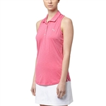 Puma Racerback Shocking Pink Sleeveless Golf Polo