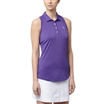 Puma Racerback Royal Purple Sleeveless Golf Polo