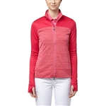 Puma Colorblock Full Zip Golf Jacket - Bright Rose
