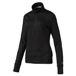 Puma 1/4 Zip Golf Popover - Black