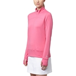 Puma 1/4 Zip Golf Popover - Shocking Pink