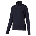 Puma 1/4 Zip Golf Popover - Peacoat