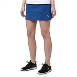 Puma Solid Knit Golf Skort - True Blue