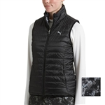 Puma PWRWARM Reversible Quilted Golf Vest - Black