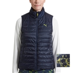 Puma PWRWARM Reversible Quilted Golf Vest - Peacoat