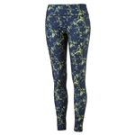 Puma Floral Golf Tight - Peacoat/Nrgy Yellow