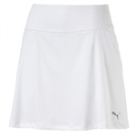 Puma PWRSHAPE Solid Knit Golf Skort - Bright White