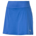 Puma PWRSHAPE Solid Knit Golf Skort - Nebulas Blue
