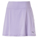 Puma PWRSHAPE Solid Knit Golf Skort - Purple Rose