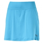 Puma PWRSHAPE Solid Knit Golf Skort - Aquarius Blue
