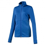 Puma Heather Full Zip Popover - Nebulas Blue