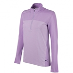 Puma Evoknit Seamless 1/4 Zip Popover - Purple Rose