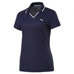 Puma Pique Golf Polo - Peacoat