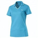 Puma Pique Golf Polo - Aquarius