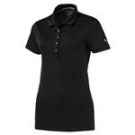 Puma Pounce Short Sleeve Golf Polo - Black
