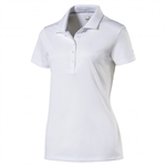 Puma Pounce Short Sleeve Golf Polo - White