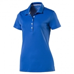 Puma Pounce Short Sleeve Golf Polo - Nebulas Blue