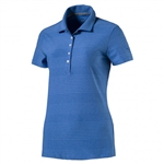 Puma Pounce Aston Short Sleeve Golf Polo - Nebulas Blue