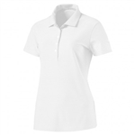 Puma Pounce Aston Short Sleeve Golf Polo - Bright White