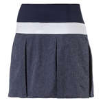 Puma PWRSHAPE Pleated Golf Skort - Peacoat