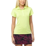 Puma Women's Petal Polo Golf Polo Sharp Green