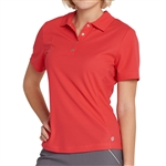 GG Blue Tina Short Sleeve Golf Polo - Ruby