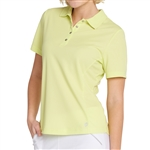 GG Blue Tina Short Sleeve Golf Polo - Lime