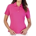 GG Blue Tina Short Sleeve Golf Polo - Cerise