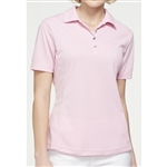 GG Blue Tina Short Sleeve Dahlia Pink Golf Polo