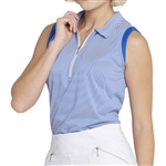 GG Blue Katy Sleeveless Golf Polo - Royal Align