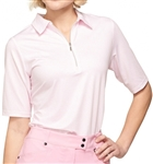 GG Blue Jane Short Sleeve Dahlia Dot Polo