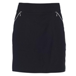 GG Blue Fab Fit Black Golf Skort