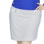 GG Blue Harlo Golf Skort - Navy Dot