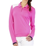 GG Blue Haley Long Sleeve Top - Cerise